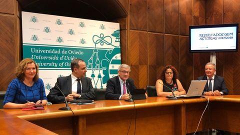 Presentación del estudio Global Entrepreneurship Monitor (GEM) Asturias 2017/2018