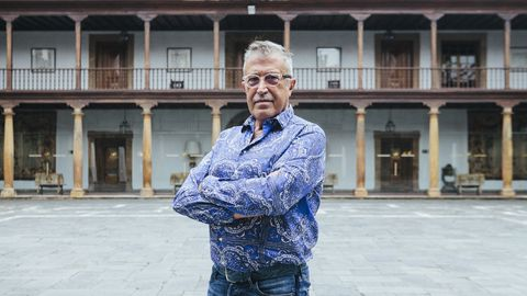 El director de escena Emilio Sagi en el Hotel Reconquista de Oviedo