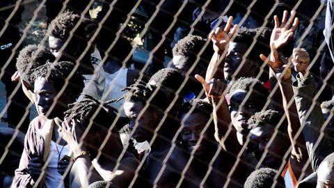 Hacía meses que no se producía una entrada masiva por el perímetro fronterizo y la principal vía de acceso a Ceuta desde Marruecos