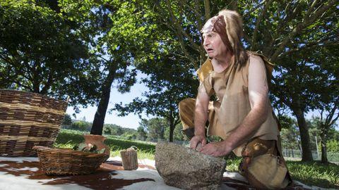 Penabade, como construtor de dolmens en Dombate