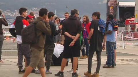 Usuarios del puerto de Vigo: «Esto se veía venir. La estructura de hormigón estaba totalmente oxidada»