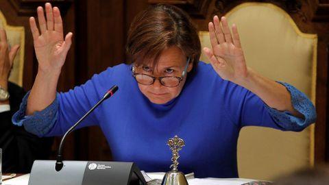 La exalcaldesa de Gijón, Carmen Moriyón