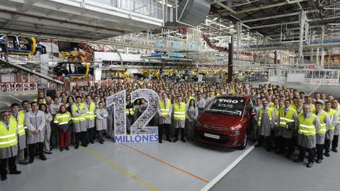 En 2015 se alcanzaron 12 millones de unidades producidas con la actual versión del monovolumen Grand C4 Picasso