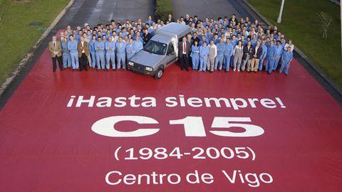 Una furgoneta de reparto legendaria producida en exclusiva en Vigo que se matuvo en el mercado 21 años por su éxito de ventas
