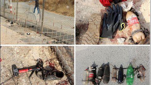 Las imágenes tras el salto de la valla de Ceuta