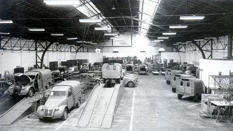 Primeras unidades fabricadas por Citroën Hispania, S.A.