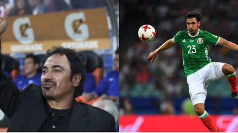 Hugo Sánchez y Oswaldo Alanís