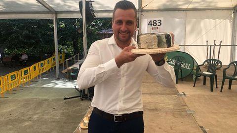 El mejor queso Cabrales del año es de la quesería «Valfriu»