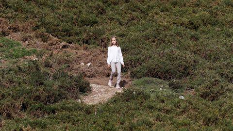La princesa Leonor hace un recorrido por el Parque Nacional de la Montaña de Covadonga -embrión del actual Parque de los Picos de Europa- con motivo de la celebración del primer centenario