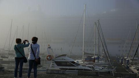 Cruceros entre la niebla