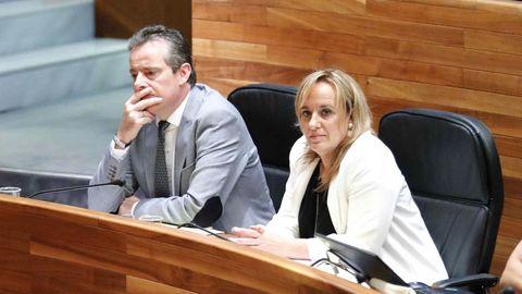 Marcelino Marcos y Nuria Devesa