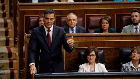 La semana horribilis de Pedro Sánchez
