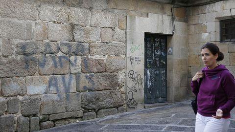 Pintada en Ourense
