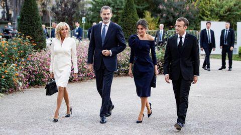 Los reyes en París