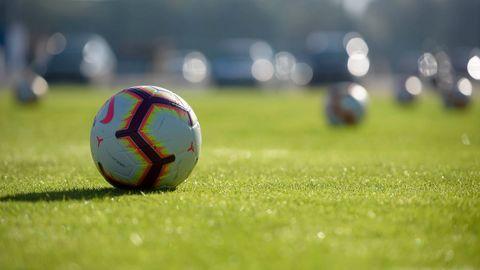 Balon futbol requexon.Imagen de un balón de fútbol