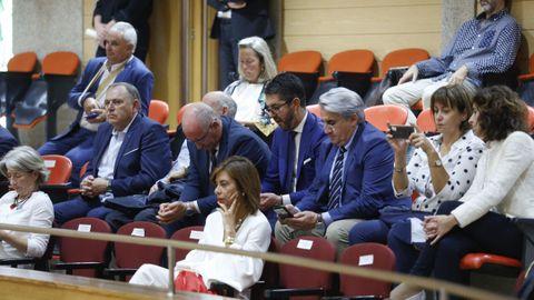 La tribuna de invitados del Parlamento