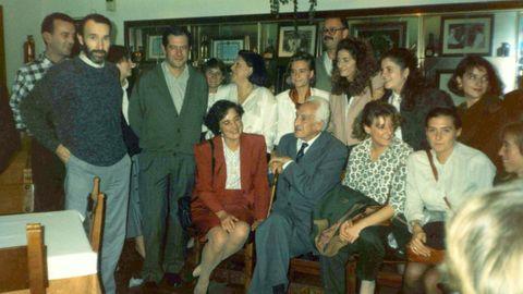 Severo Ochoa en el centro de la imagen