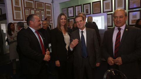 Los alcaldes José Ramón Rioboo, Lara Méndez, Abel Caballero y José Tomé Roca