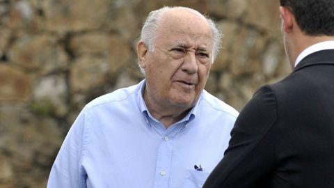 1. AMANCIO ORTEGA. El capital del accionista mayoritario de Inditex asciende a los 58.000 millones de euros