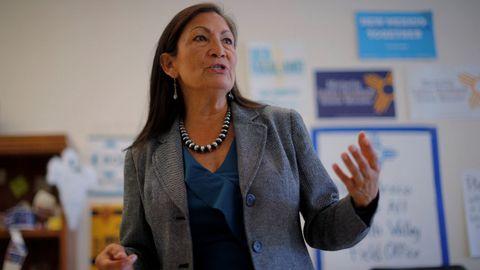Deeb Haaland quiere ser la primera indígena en la Cámara de Representantes