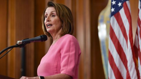 Nancy Pelosi aspira la demócrata con más poder