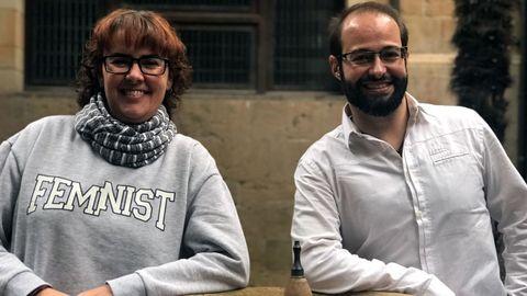 Begoña Díaz y Héctor Gómez Navarro.