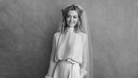 El vestido de Marta Ortega fue diseñado exclusivamente para ella por Pierpaolo Piccioli, el director creativo de Valentino