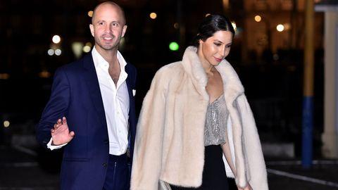 El aristócrata Andrés Burdett.  Se casó el pasado julio con la dj Katy Sainz. Emprendedor tecnológico, tiene su propia empresa de comunicación. Hijo de los barones de la Torre.