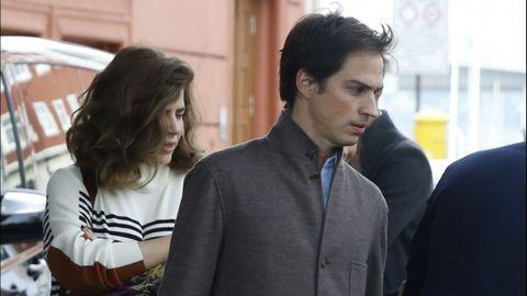 Mafalda Muñoz, hermana pequeña de Samantha-Vallejo Nájera y de Colta, y su marido el fotógrafo Gonzalo Machado. Ellos presentaron a Marta Ortega y Torretta