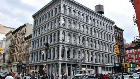 Edificio Haughwout, Nueva York (EE.UU.). 133 millones de euros. Su edificio más emblemático en la Gran Manzana.