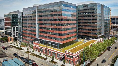 Troy Block, Seattle (Estados Unidos) 645 millones. Es parte del campus Amazon, sede central del grupo.