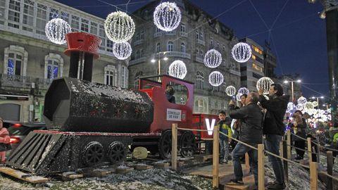 Deslumbrante Navidad anticipada en Vigo