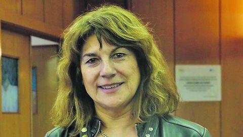 Beatriz González López-Valcárcel, en una conferencia en Ourense