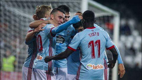 258 - Valencia-Celta (2-1) en Primera el 9 de diciembre del 2017