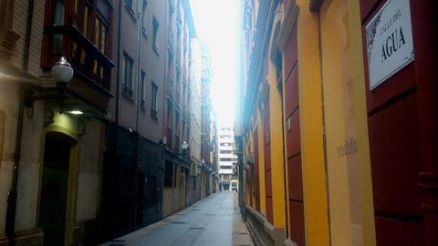 La calle del Agua, desde Zarracina.