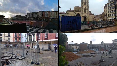 Obras en Oviedo