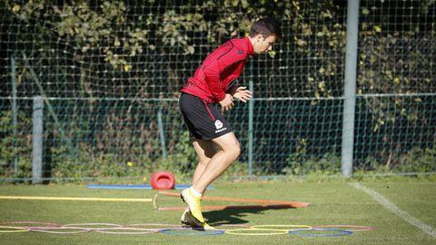 Saúl ha pasado de descartado a habitual en los planes del Deportivo