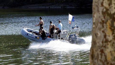 Imagen de archivo de la búsqueda de Sonia Iglesias en el río Lérez en 2010