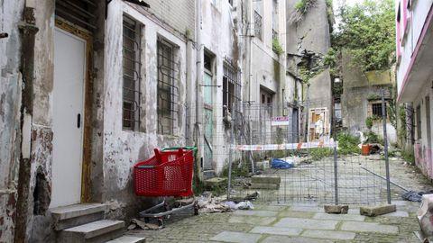 Estado de una vivienda en Santiago de Compostela