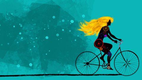 Una de las ilustraciones de Carlos Rivaherrera para «Ikiru», de Carolina Sarmiento