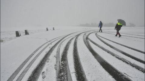 Nieve en Rodeiro
