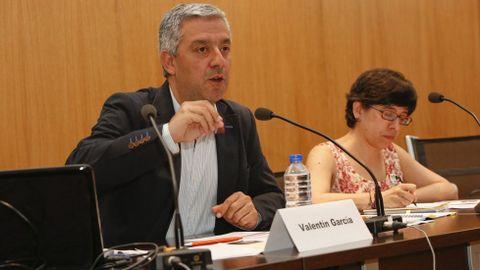 O secretario xeral de Política Lingüística, Valentín García, cre que en Vox descoñecen a realidade galega