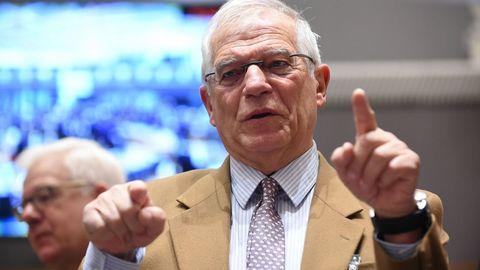 Borrell advirtió a los ingleses que no pueden hacer como los catalanes, proclamar el  brexit  y después dejarlo en suspenso