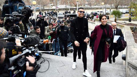 Cristiano Ronaldo condenado a 23 meses de cárcel y 19 millones de multa