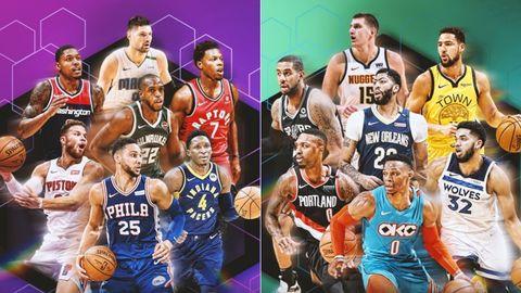 Suplentes del All Star 2019 de la NBA