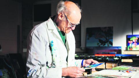 Un participante del centro de normalización a través del arte CenArte