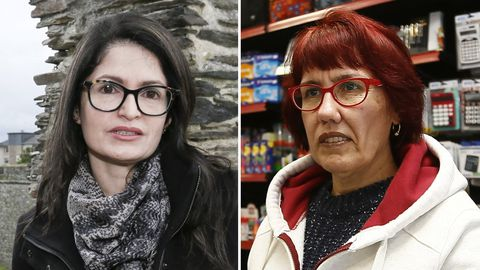Karin Mago y Begoña García