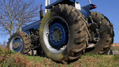 Imagen de archivo de un tractor