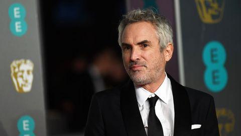 El director mexicano Alfonso Cuarón