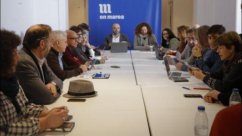 Reunión constitutiva del Consello das Mareas